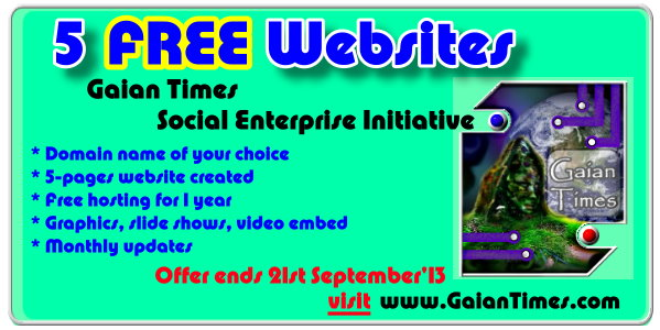 GT Free website offer -Sept 2013