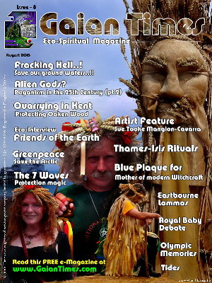 Gaian Times eco-Magazine -issue 8 - sm-cover