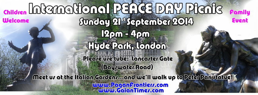 Peace Day at Hyde Park - 21Sept2014 temp banner